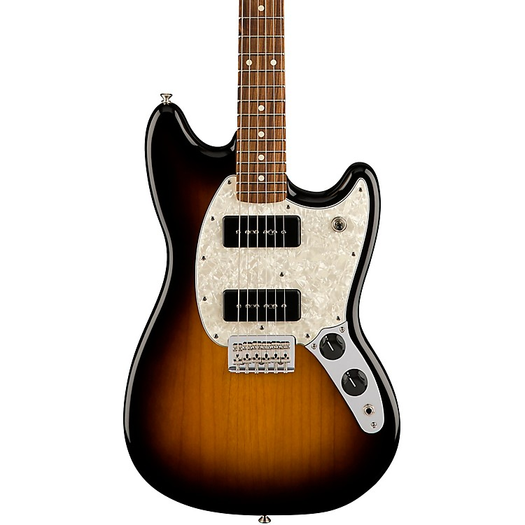 fender limited edition mustang 90 electric guitar with pau ferro fingerboard music123. Black Bedroom Furniture Sets. Home Design Ideas