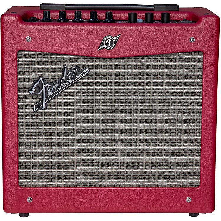 Fender Limited Edition Mustang I 20W 1x8 Guitar Amp Wine Red Wine Red
