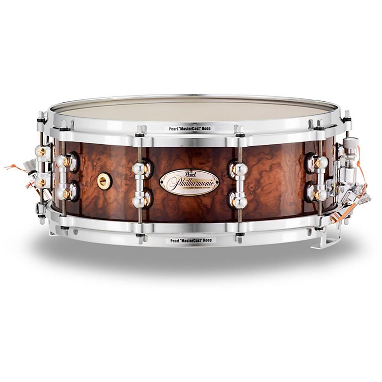 Pearl Limited Edition Philharmonic Bubinga Maple Snare Drum 14 x 5 in.