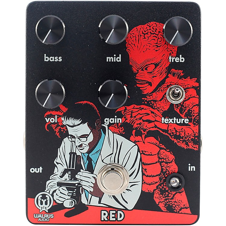 Walrus AudioLimited-Edition Red High-Gain Distortion Pedal