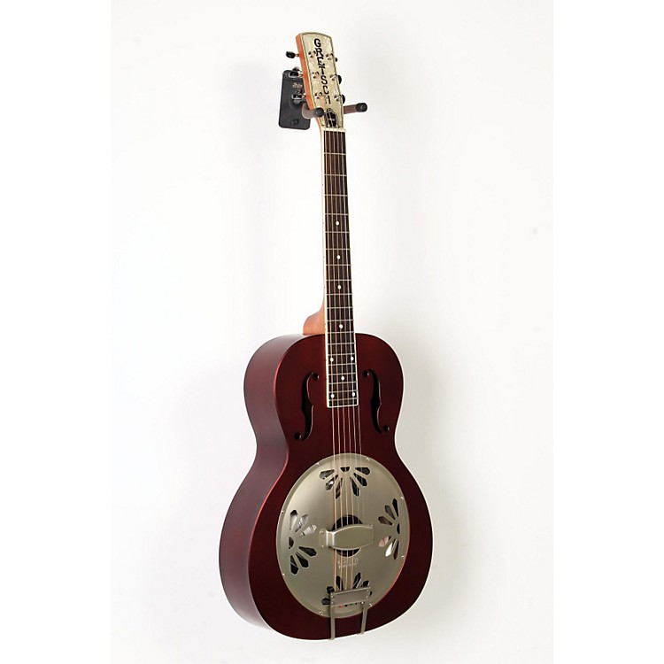 Gretsch GuitarsLimited Edition Roots Series G9202 Honey Dipper Special Resonator Acoustic GuitarOxblood888365894249