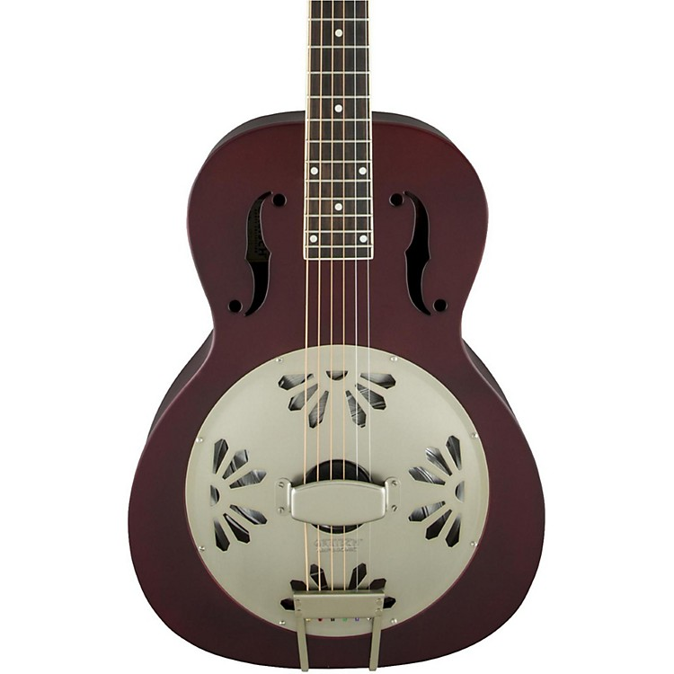 Gretsch GuitarsLimited Edition Roots Series G9202 Honey Dipper Special Resonator Acoustic GuitarOxblood