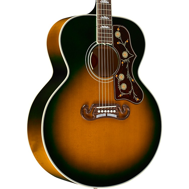 Gibson Limited Edition SJ-200 Iguana Burst - Acoustic-Electric Guitar Iguana Burst