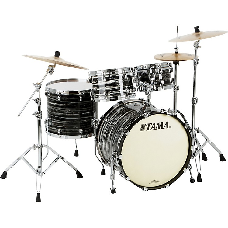 TamaLimited Edition Starclassic Performer Birch / Bubinga 4-Piece Shell PackLacquered Azure Oyster
