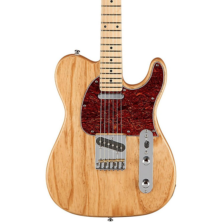 G&L Limited Edition Tribute ASAT Classic Ash Body Electric Guitar Gloss Natural