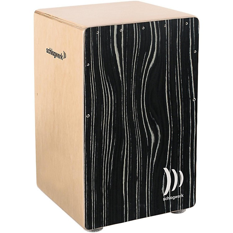 SCHLAGWERK Limited Edition X-One Series Cajon  White Stripes