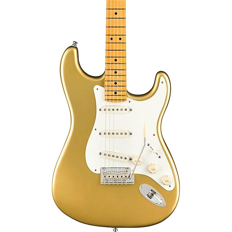 FenderLincoln Brewster Stratocaster Maple Fingerboard Electric GuitarAztec Gold