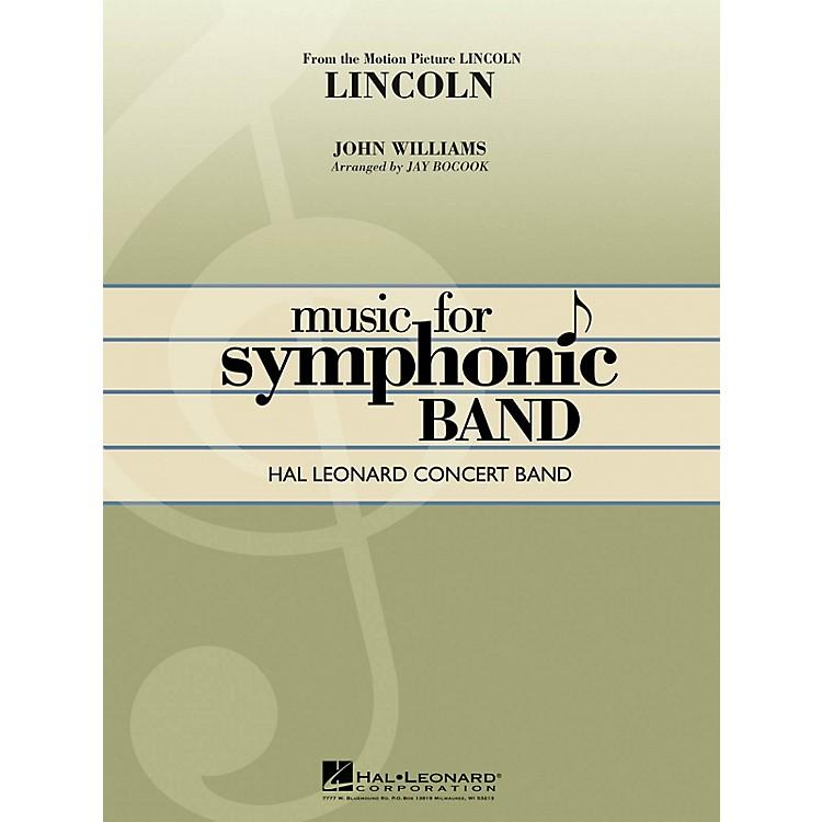 Hal LeonardLincoln Concert Band Level 4 Arranged by Jay Bocook