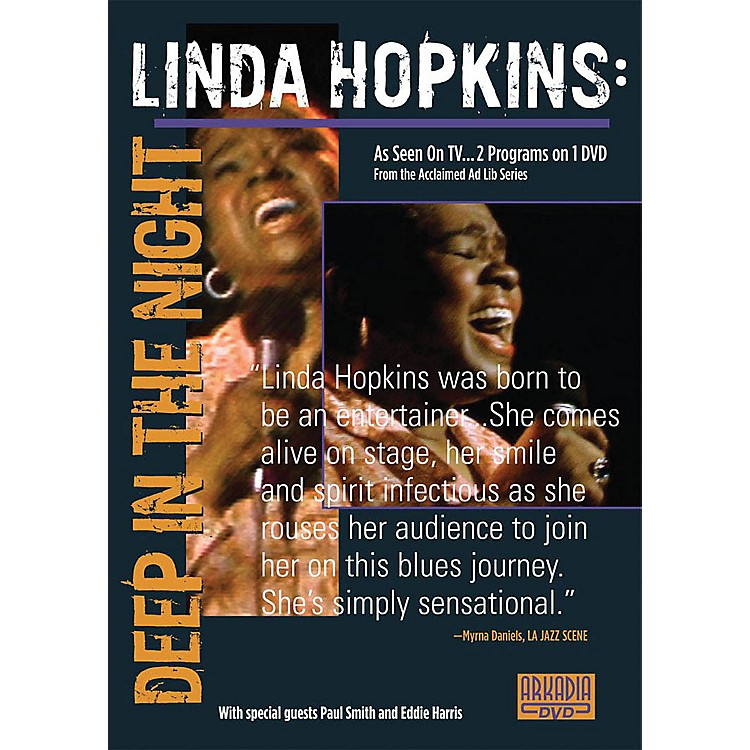 Hal Leonard Linda Hopkins - Deep in the Night (Visions of Jazz Series) DVD Series DVD Performed by Linda Hopkins