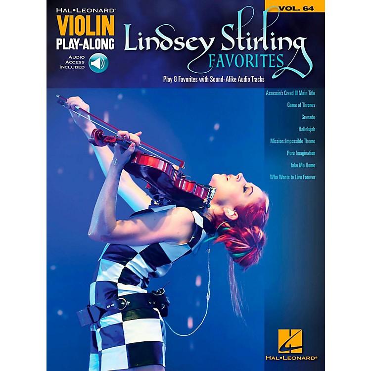 Hal LeonardLindsey Stirling Favorites Violin Play-Along Volume 64 Book/Audio Online