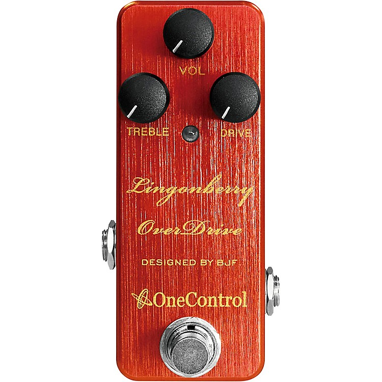 One ControlLingonberry Overdrive Effects Pedal