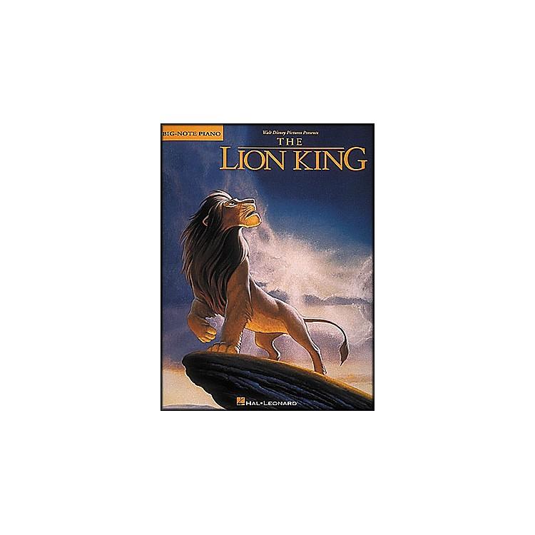 Hal LeonardLion King for Big Note Piano