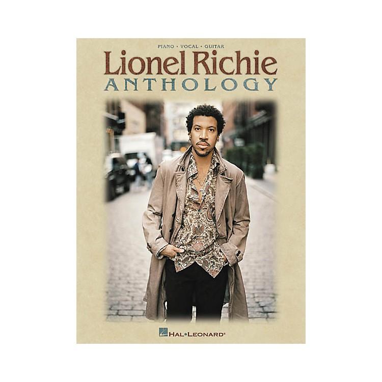 Hal LeonardLionel Richie Anthology Piano, Vocal, Guitar Songbook