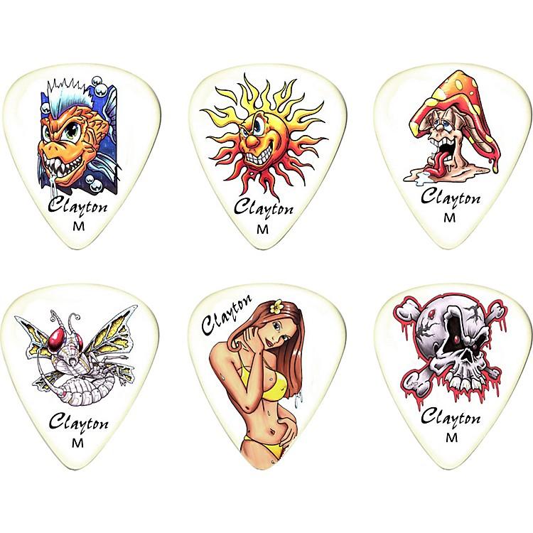 ClaytonLiquid Sun Standard Guitar Picks 1 Dozen