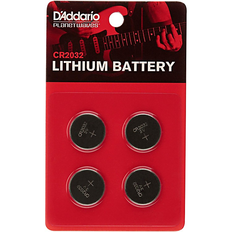 D'Addario Planet Waves Lithium Battery (4 Pack)