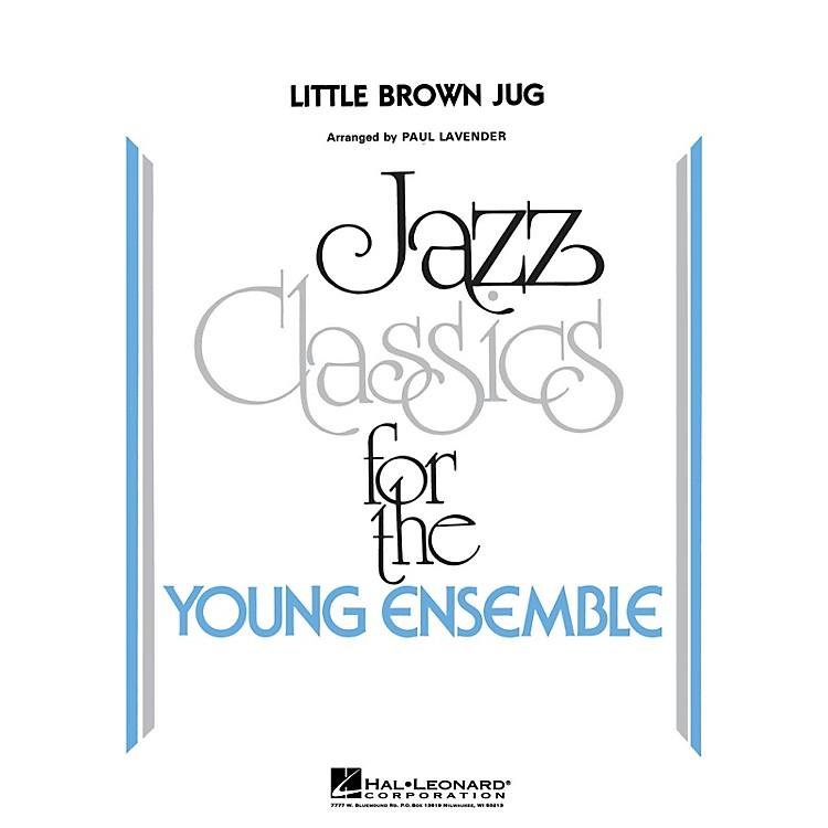 Hal LeonardLittle Brown Jug Jazz Band Level 3 Arranged by Paul Lavender