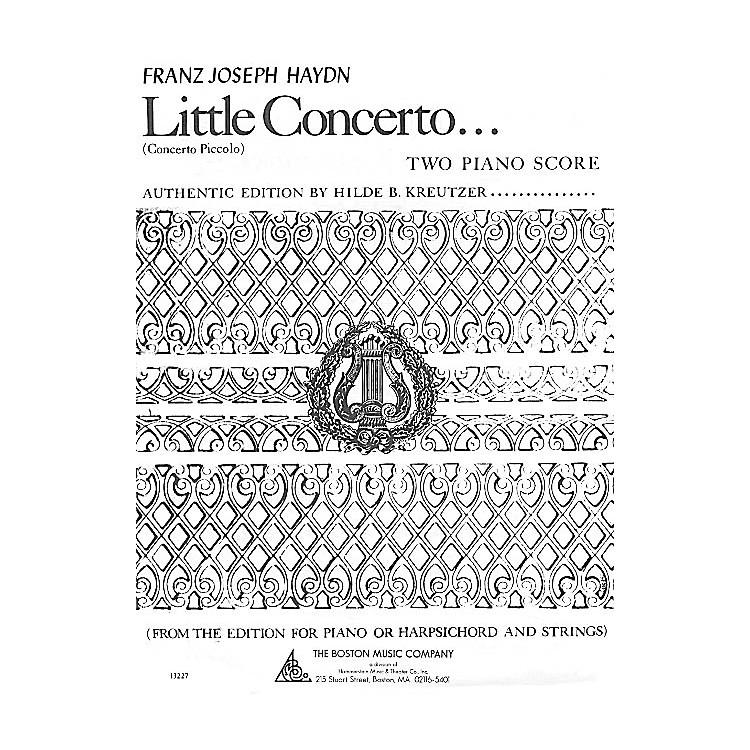 Boston MusicLittle Concerto in C Music Sales America Series
