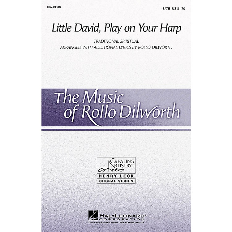 Hal LeonardLittle David, Play on Your Harp 2-Part Arranged by Rollo Dilworth