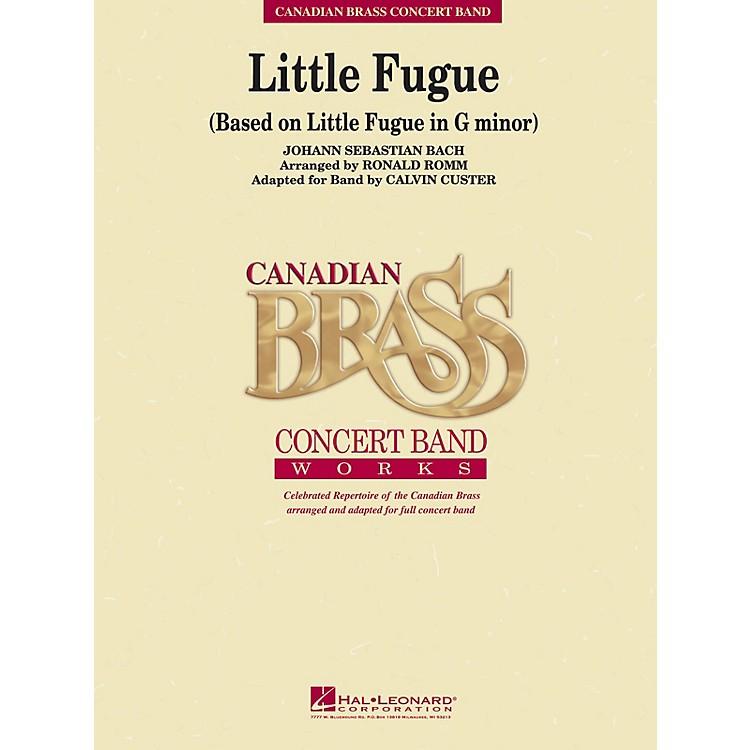 Hal LeonardLittle Fugue (Little Fugue in G Minor) Concert Band Level 4 Composed by Johann Sebastian Bach