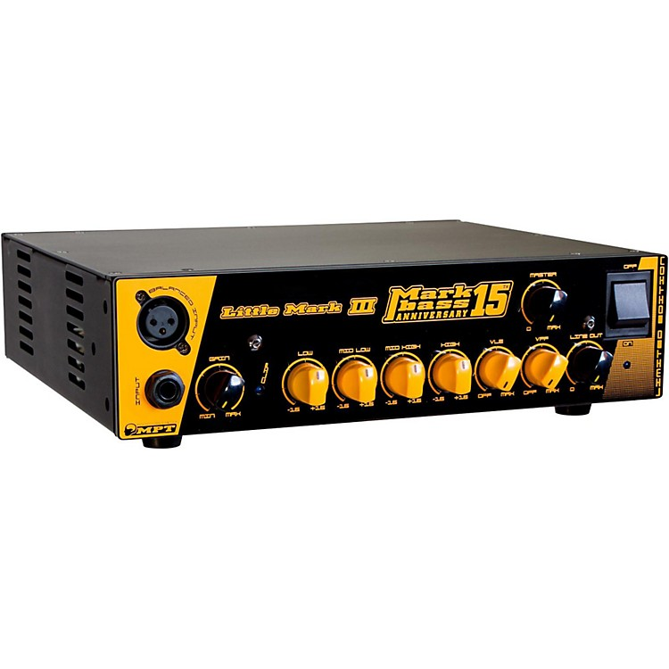 MarkbassLittle Mark III Anniversary 15 500W Bass Amp Head