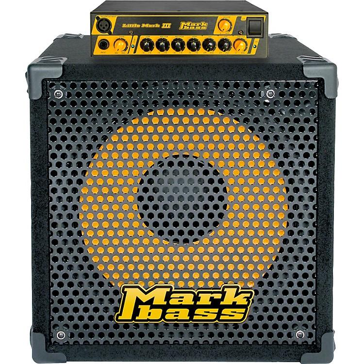 MarkbassLittle Mark III and New York 151 Bass Stack