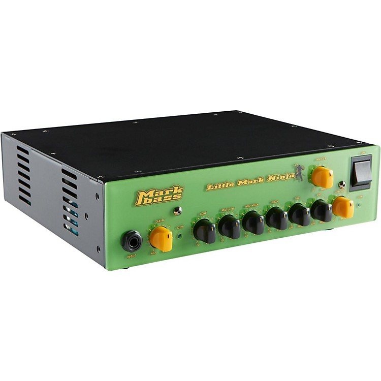 Markbass Little Mark Ninja 1,000W Bass Amp Head Lime Green