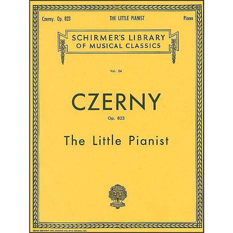 G. SchirmerLittle Pianist Op 823 Piano Complete By Czerny