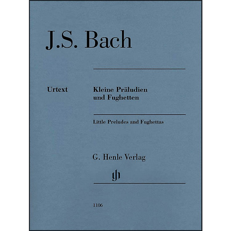 G. Henle VerlagLittle Preludes And Fughettas without Fingering By Bach / Steglich