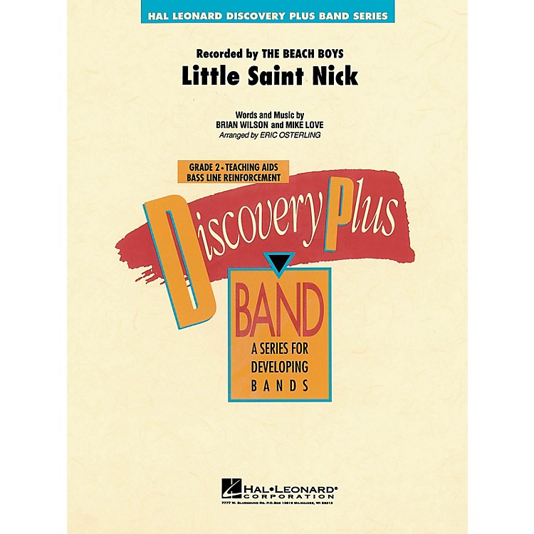 Hal LeonardLittle Saint Nick - Discovery Plus Concert Band Series Level 2 arranged by Eric Osterling