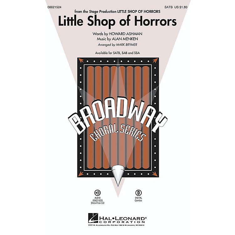 Hal Leonard Little Shop of Horrors SAB Arranged by Mark Brymer