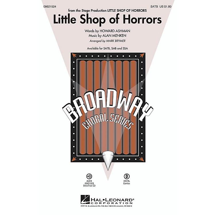 Hal LeonardLittle Shop of Horrors ShowTrax CD Arranged by Mark Brymer