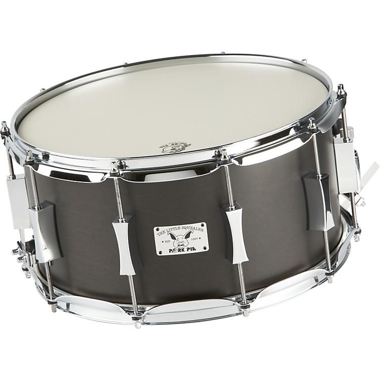 Pork PieLittle Squealer Birch / Mahogany Snare Drum14 x 7 in.Black Satin