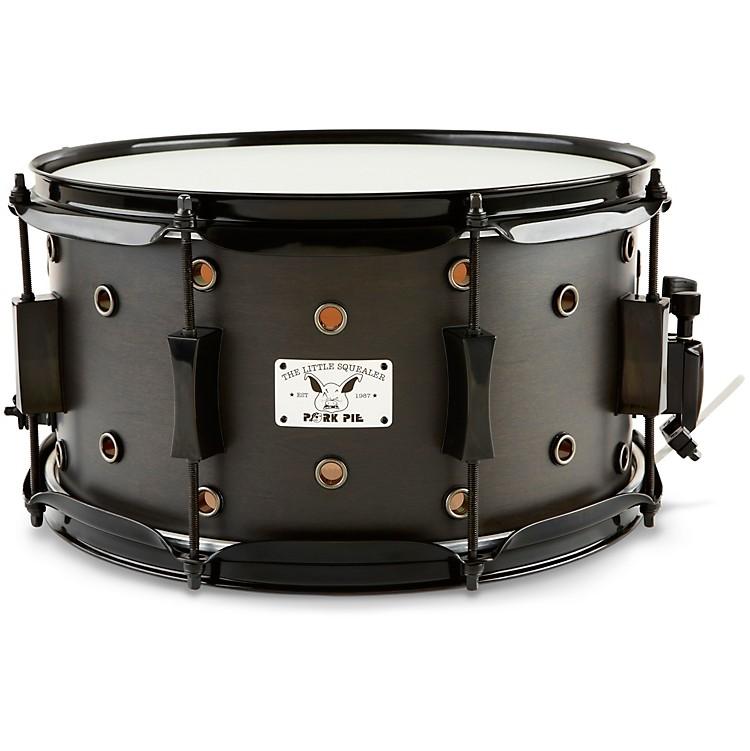 Pork PieLittle Squealer Snare DrumSatin Black Ebony7 x 13 in.