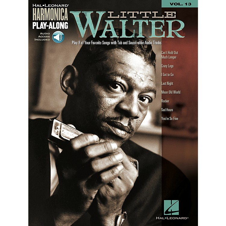 Hal LeonardLittle Walter Harmonica Play-Along Series Softcover Audio Online Performed by Little Walter