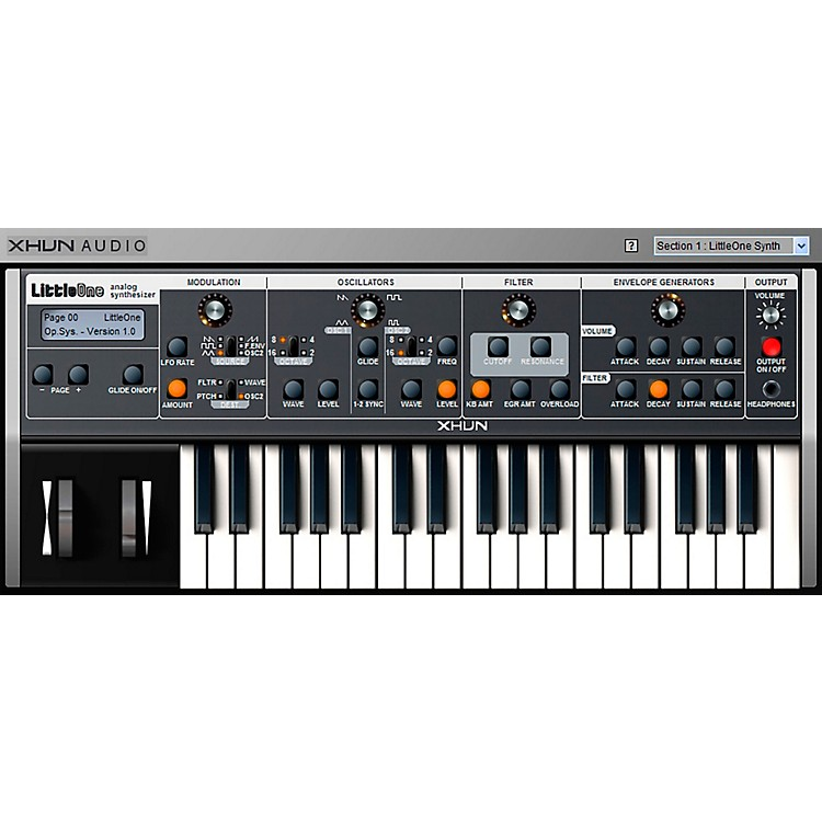 XHUN AudioLittleOne Virtual Synthesizer (Download)