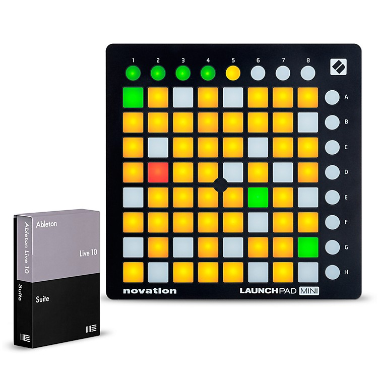 AbletonLive 10 Suite with Novation Launchpad Mini MKII