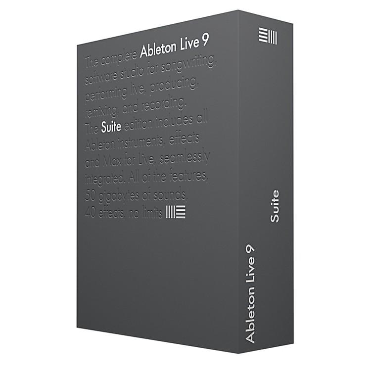 ableton live 9 suite upgrade from live lite music123. Black Bedroom Furniture Sets. Home Design Ideas