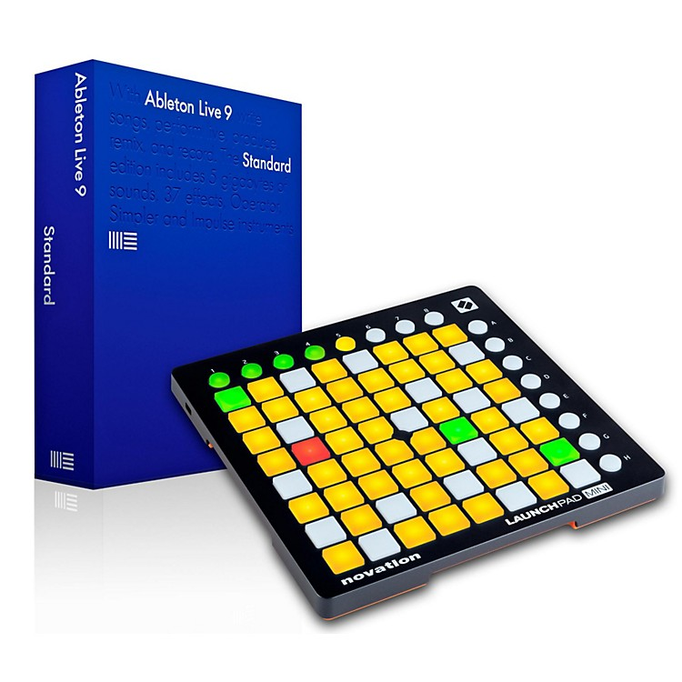 AbletonLive 9.7 Standard with Novation Launchpad Mini MKII