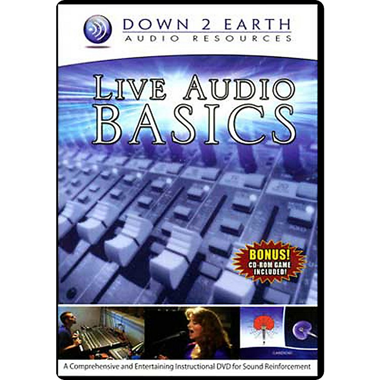 Down 2 Earth Live Audio Basics DVD