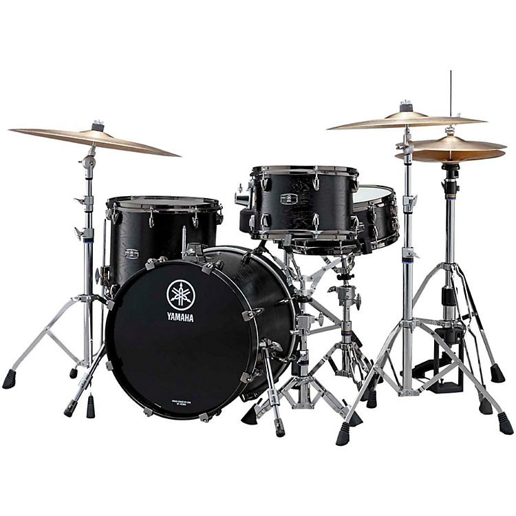 YamahaLive Custom 3-Piece Shell Pack with 22 in. Bass DrumBlack Wood