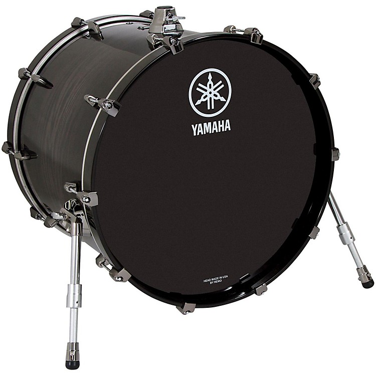Yamaha Live Custom Bass Drum 22 x 14 in. Black Wood