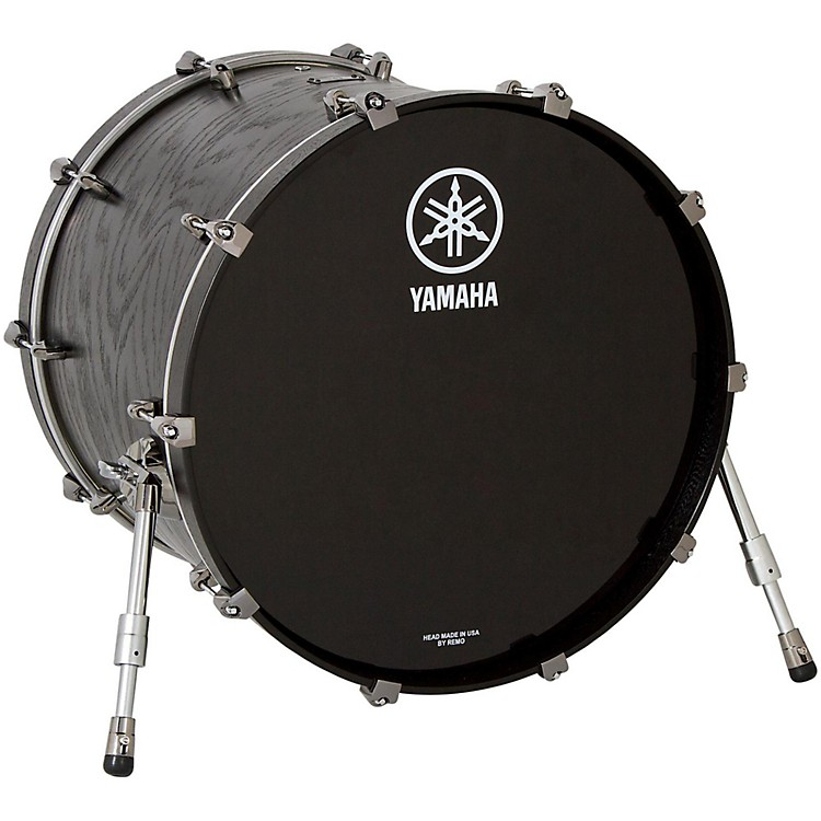 Yamaha Live Custom Bass Drum without Mount 24 x 18 in. Black Wood