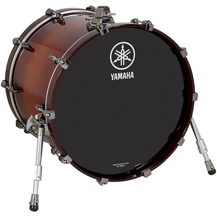 Yamaha Live Custom Oak Bass Drum 20 x 16 in. Amber Shadow Sunburst