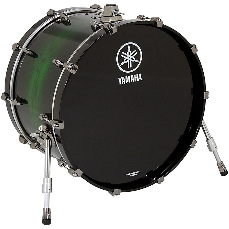 Yamaha Live Custom Oak Bass Drum 20 x 16 in. Emerald Shadow Sunburst