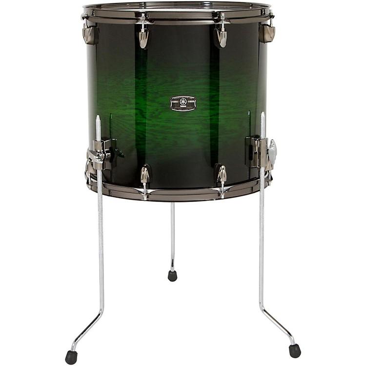 YamahaLive Custom Oak Floor Tom16 x 15 in.Emerald Shadow Sunburst