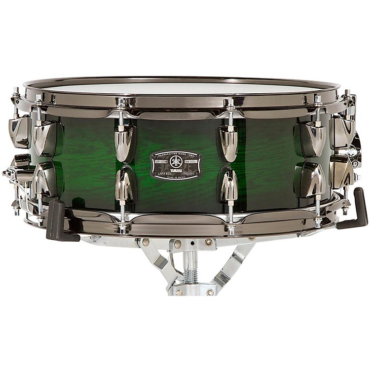 Yamaha Live Custom Snare Drum 14 x 5.5 in. Emerald Shadow Sunburst
