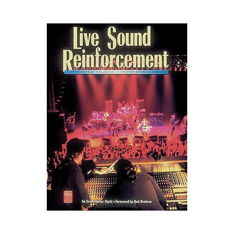 Course Technology PTRLive Sound Reinforcement Book