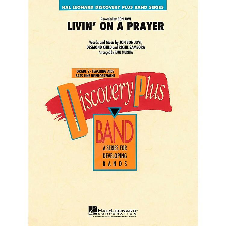 Hal LeonardLivin' On A Prayer Concert Band Level 2