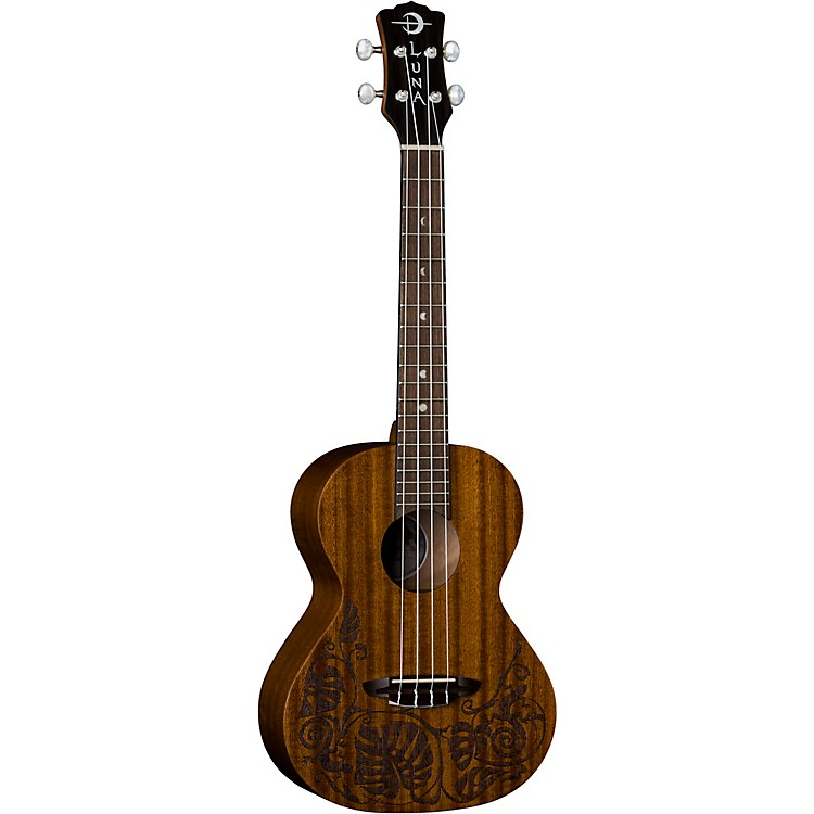 Luna Guitars Lizard Mahogany Tenor Ukulele Satin Natural