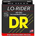 DR Strings Lo Rider MH5-130 Medium Stainless Steel 5-String Bass Strings .130 Low B